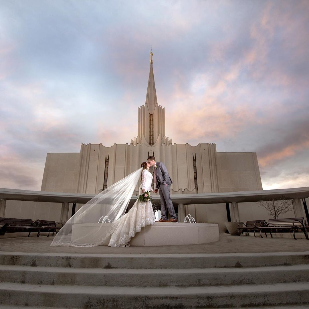 Wedding at This Is The Place in Salt Lake City, Utah