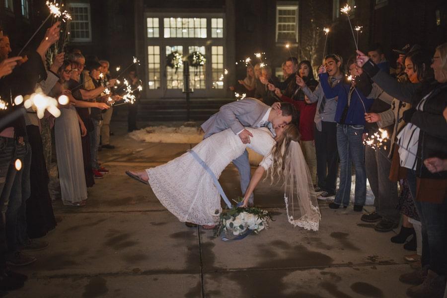 Winter Wedding @ The Ballroom in Idaho Falls, ID